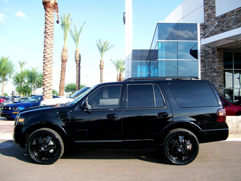 Blacked Out Ford Expedition Trophy Build By The Guerrero Group