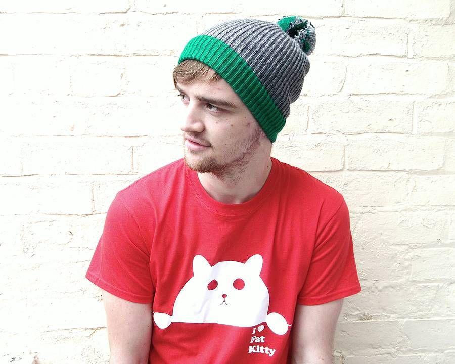 63077cc3cb440 Men's Pom Pom Beanie Hat | men | Beanie hats, Beanie, Pom pom beanie hat