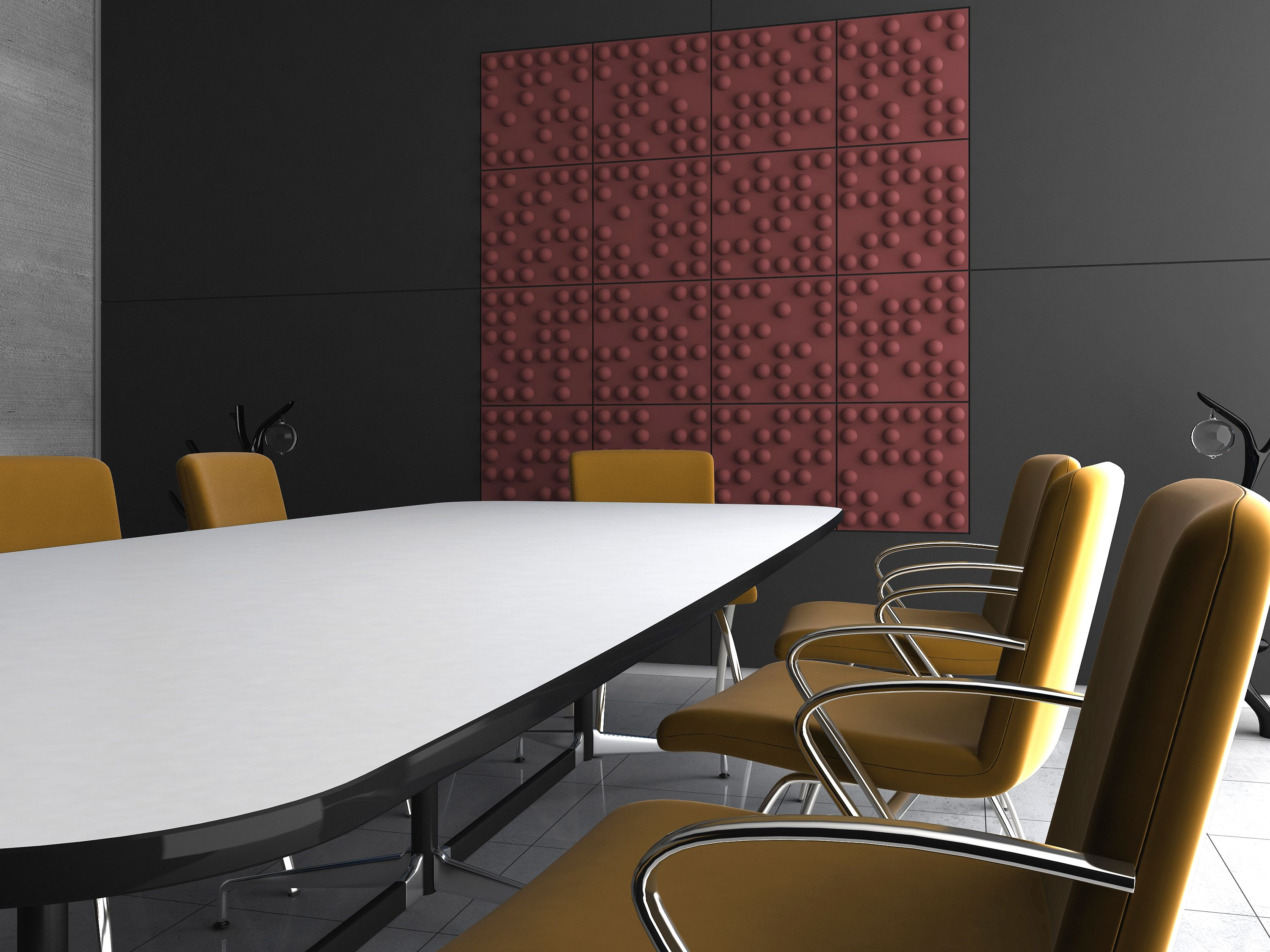 Soundtect Tetris meeting room Acoustic panels, Paneling