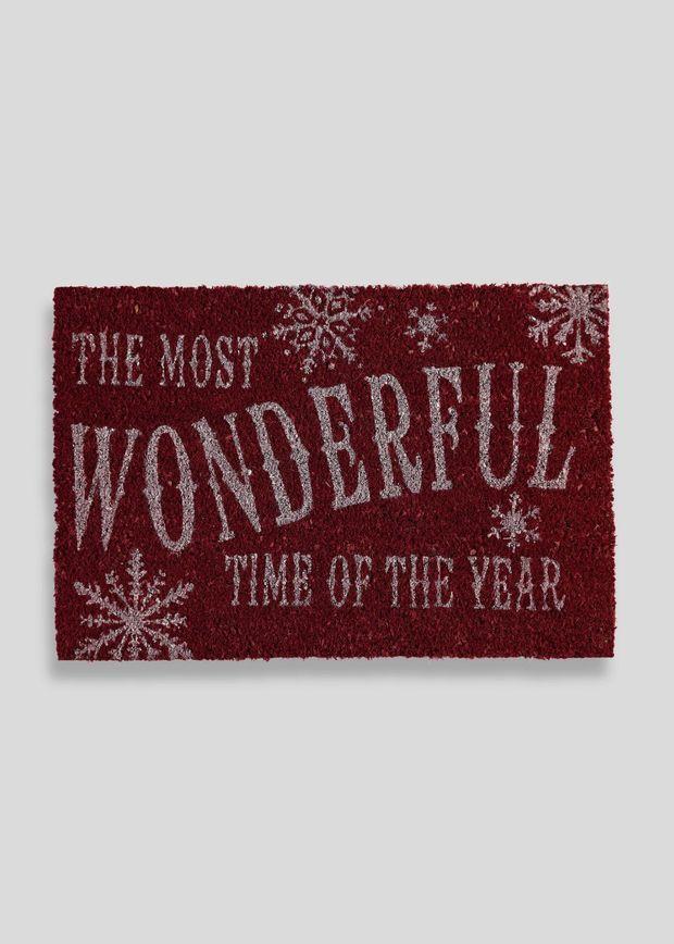 Wonderful Christmas Door Mat