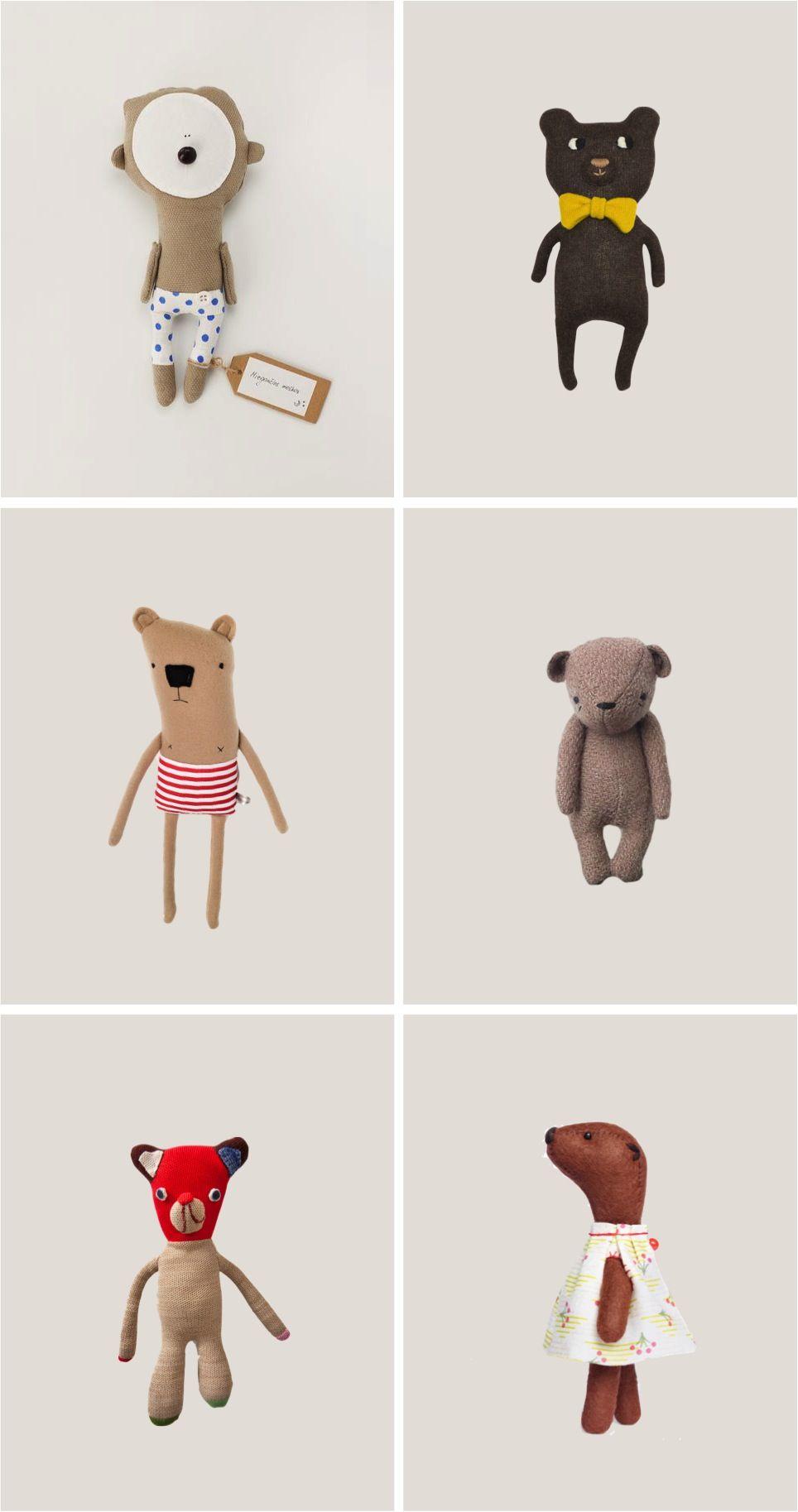 six of the best #teddybear soft toys | Criaturas | Pinterest