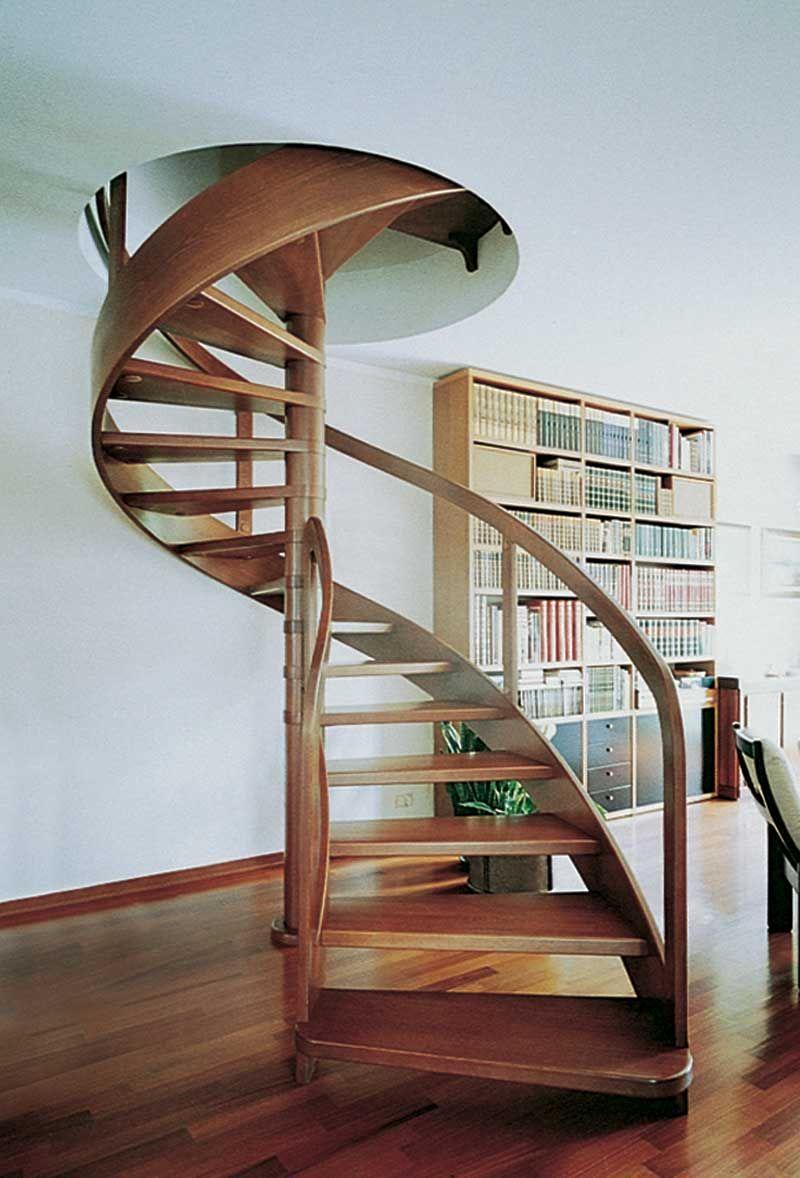 Escaleras de caracol – Visioninteriorista | Escaleras | Pinterest ...