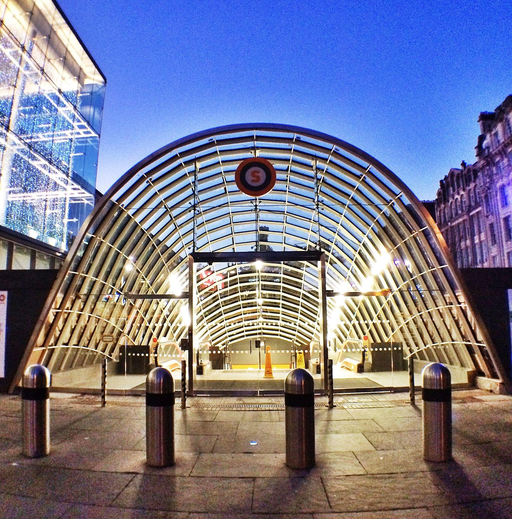 St Enoch Subway Glasgow Scotland Glasgow Pinterest
