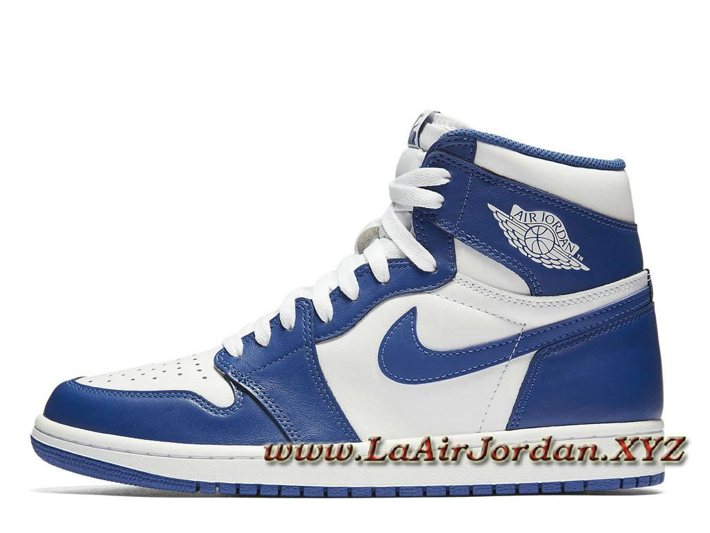 Air Jordan 1 Retro High OG Storm Blue 555088-127 Chaussures Officiel Nike  Site Pour