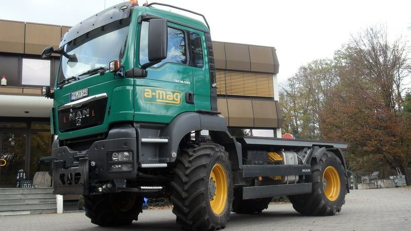 4x4 Truck And Tractors : Man tgs bb i really wish trucks like this