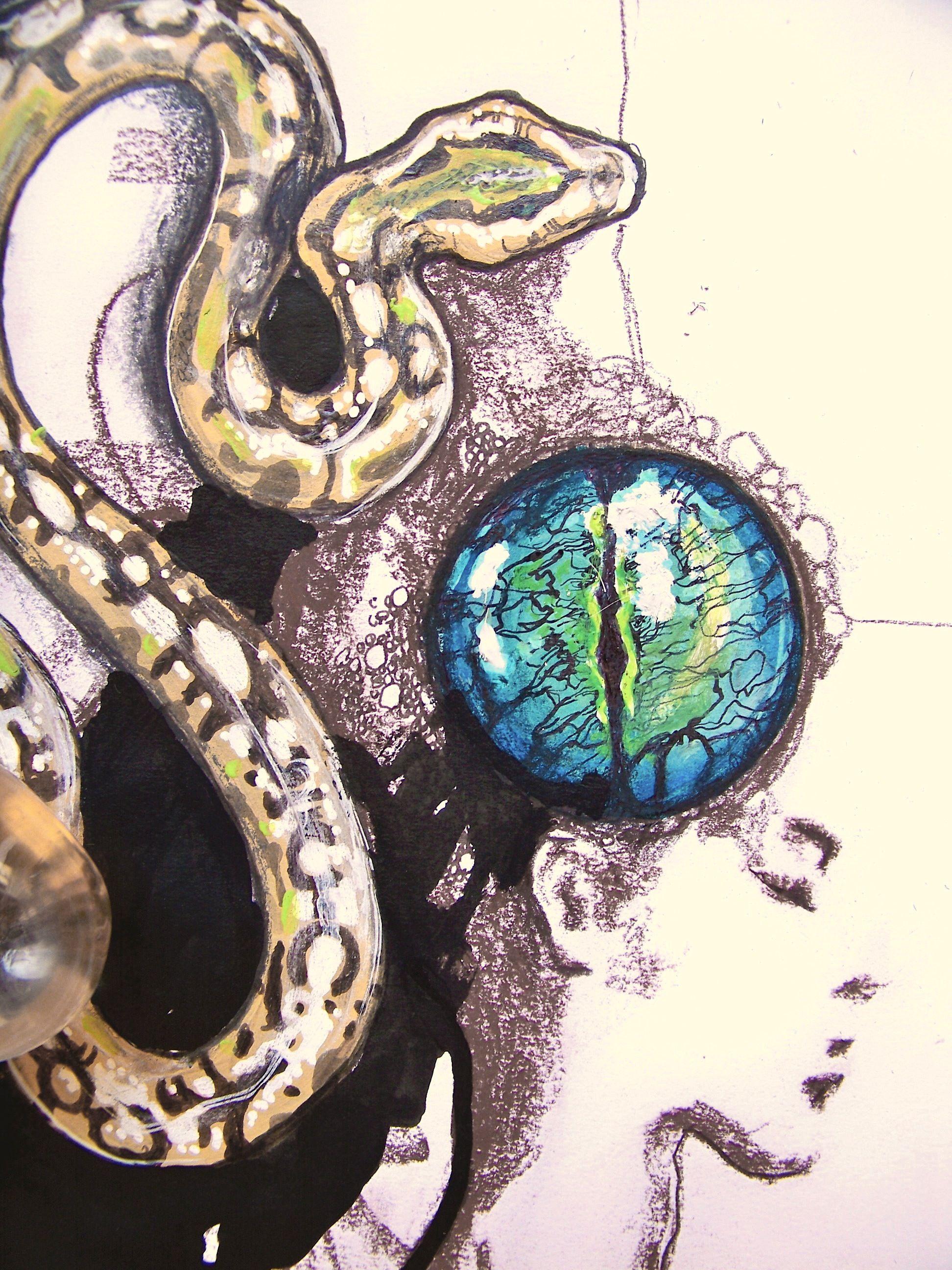 Illustration marie roura epureatelier marieroura illustration marie roura epureatelier marieroura epureatelier eye kundalini snakes buycottarizona