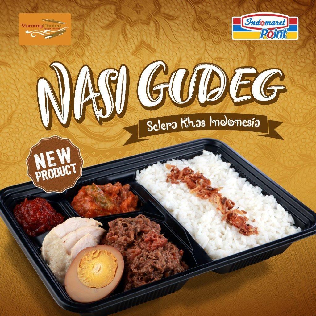 New Product Nasi Gudeg Selera Khas Indonesia Tersedia Di Indomaret