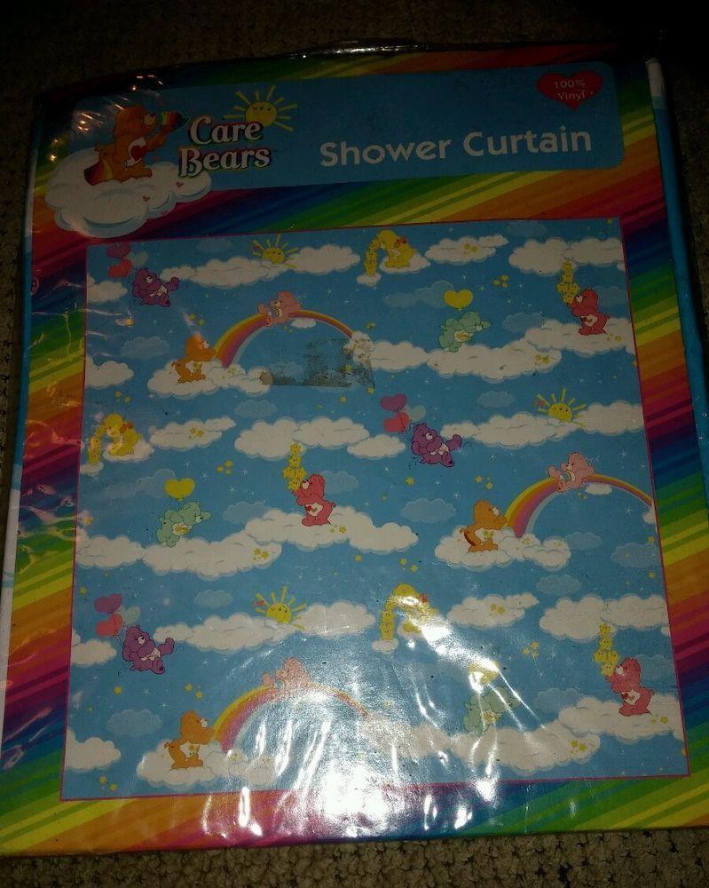Care Bear Shower Curtain 100 Vinyl New Curtains Bears Auction