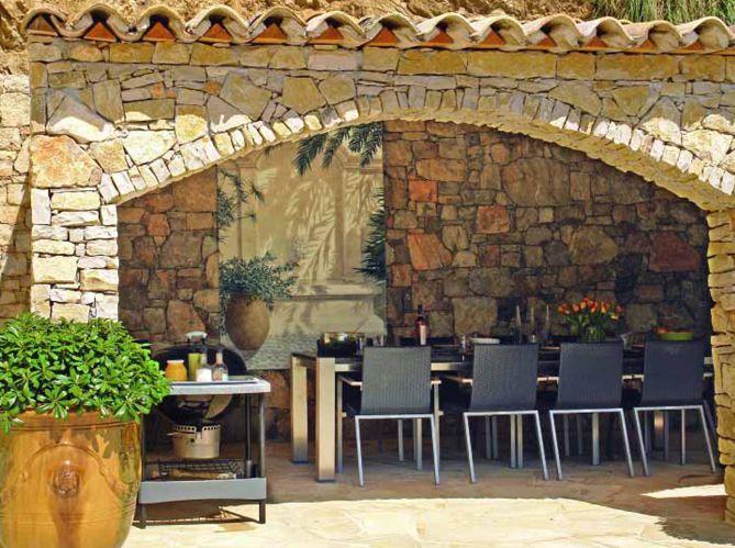 Cuisine - Elle Décoration For the Home Pinterest Fresco - Cuisine D Ete Exterieure