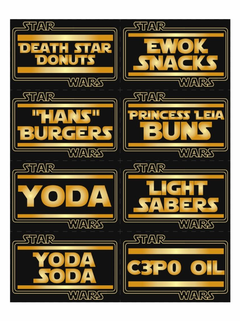 Google themes star wars - Star Wars Party Ideas And Free Downloads