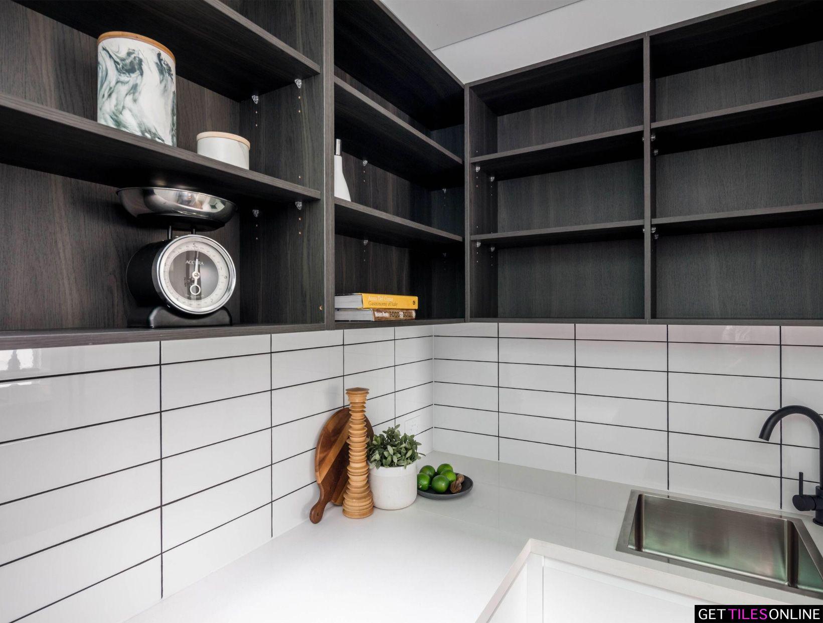 Cheapest 100x300 White Gloss Wall Tile 14 90 M2 Get Tiles Online White Walls Wall Tiles Wall Design