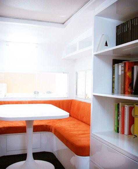 Parallax Design Offices Design Sponge Caravan Interior Airstream Interior Design