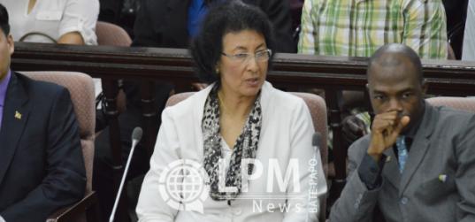 Jennifer Simon e Melvin Bouva são os novos presidente e vice-presidente da Assembléia Nacional (DNA) - (LPM NEWS, 2015-07-01)