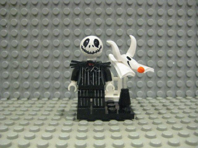 Jack Skellington /'Pumpkin King/' Halloween Town Lego Moc Minifigure Kids Gift