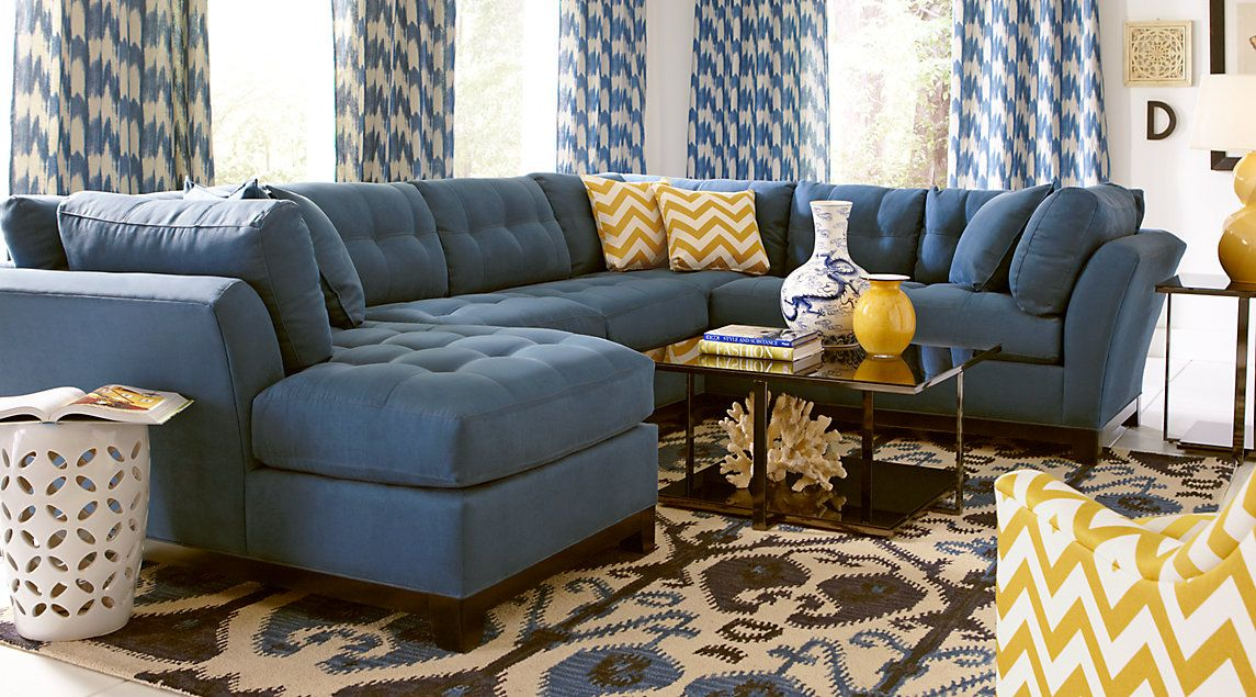 Affordable Sectional Living Room Sets - Rooms To Go ...
