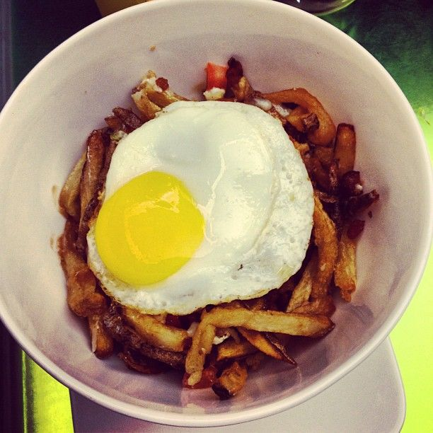 """Breakfast Poutine"" - I am home. #canada"