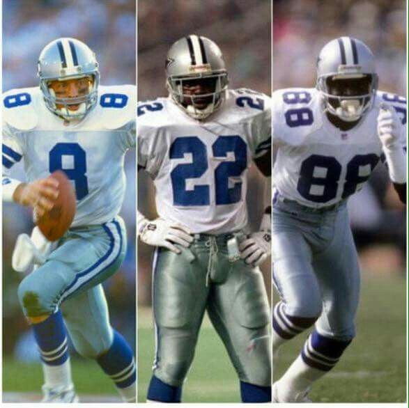 The Triplets: Aikman, Smith, and Irvin   Dallas cowboys, Cowboys football,  How bout them cowboys