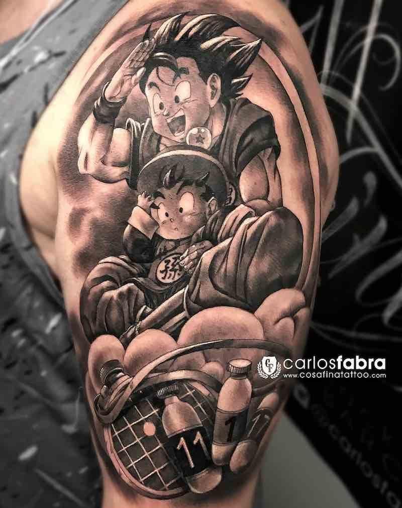 Znalezione Obrazy Dla Zapytania Tattoo Dragon Ball Gohan