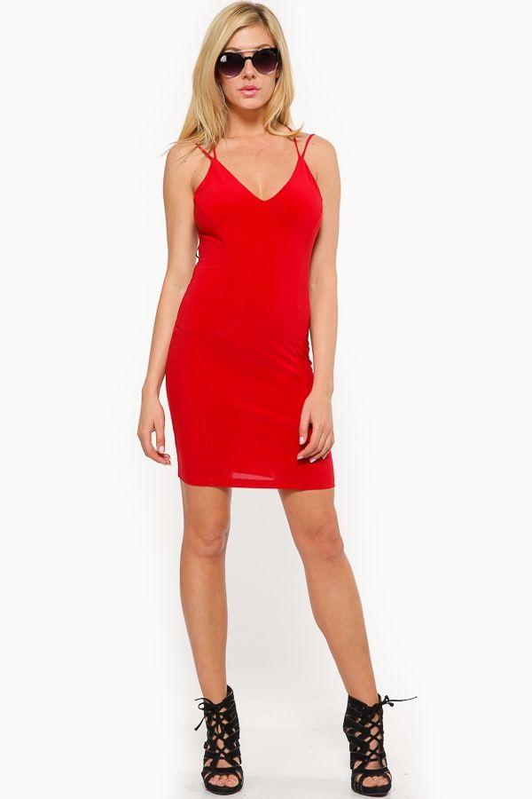 c651f5c51f4 Gotta love a sexy hot red dress dress to wear on a night out! It ...