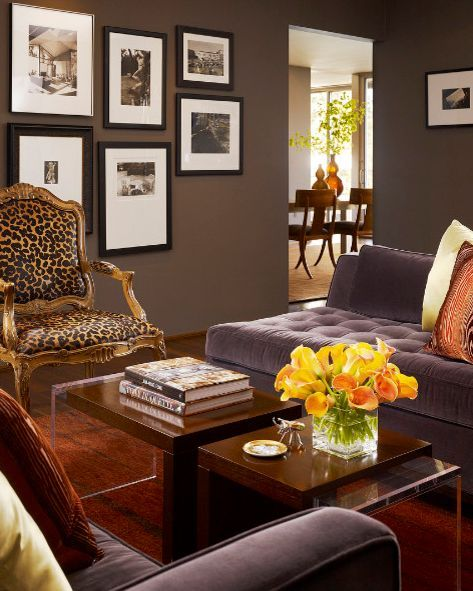 Chic Interior Designs Featuring Leopard Print Accents