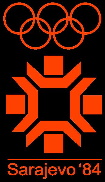 Logo Of The 1984 Winter Olympic Games Sarajevo Yugoslavia