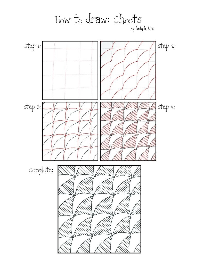 Choots | zentangles | Zentangle drawings, Doodle patterns, Zentangle