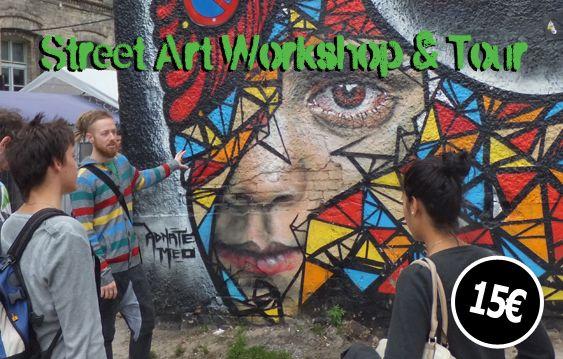 Mobile Workshop Mobile Workshop Berlin Tour Art Workshop