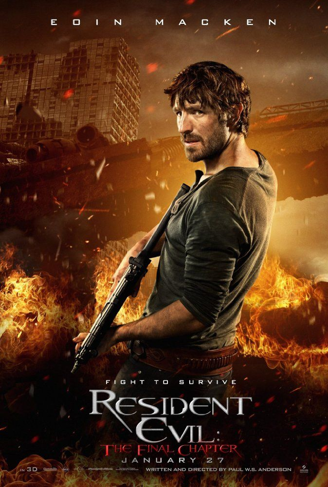 Resident Evil The Final Chapter 2016 On Imdb Movies Tv