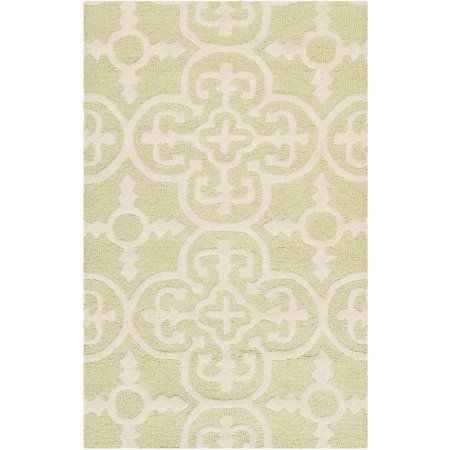 Safavieh Cambridge Kimberly Hand-Tufted Wool Area Rug, Beige