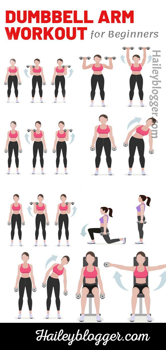 5-Minute Arm Workout with Dumbbells
