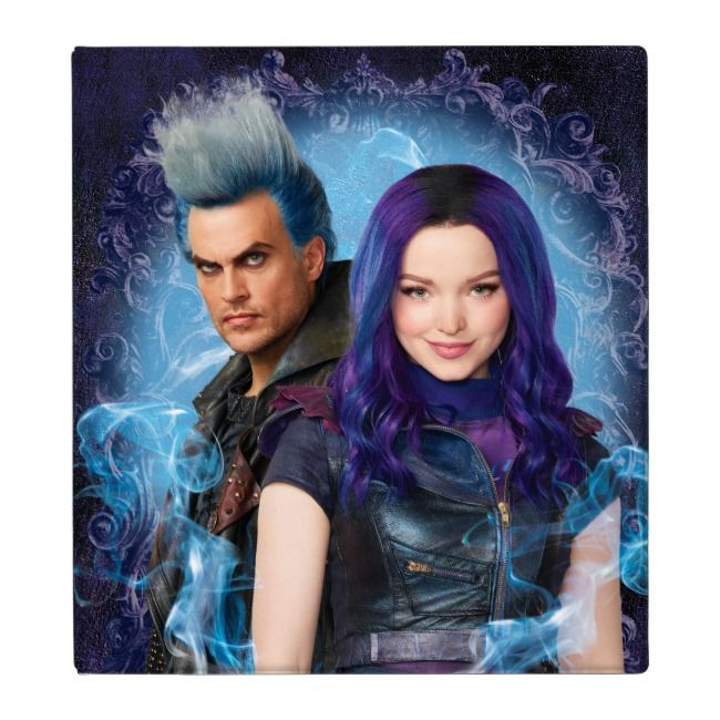 Descendants 3 | Mal & Hades 3 Ring Binder | Zazzle.com #descendants3