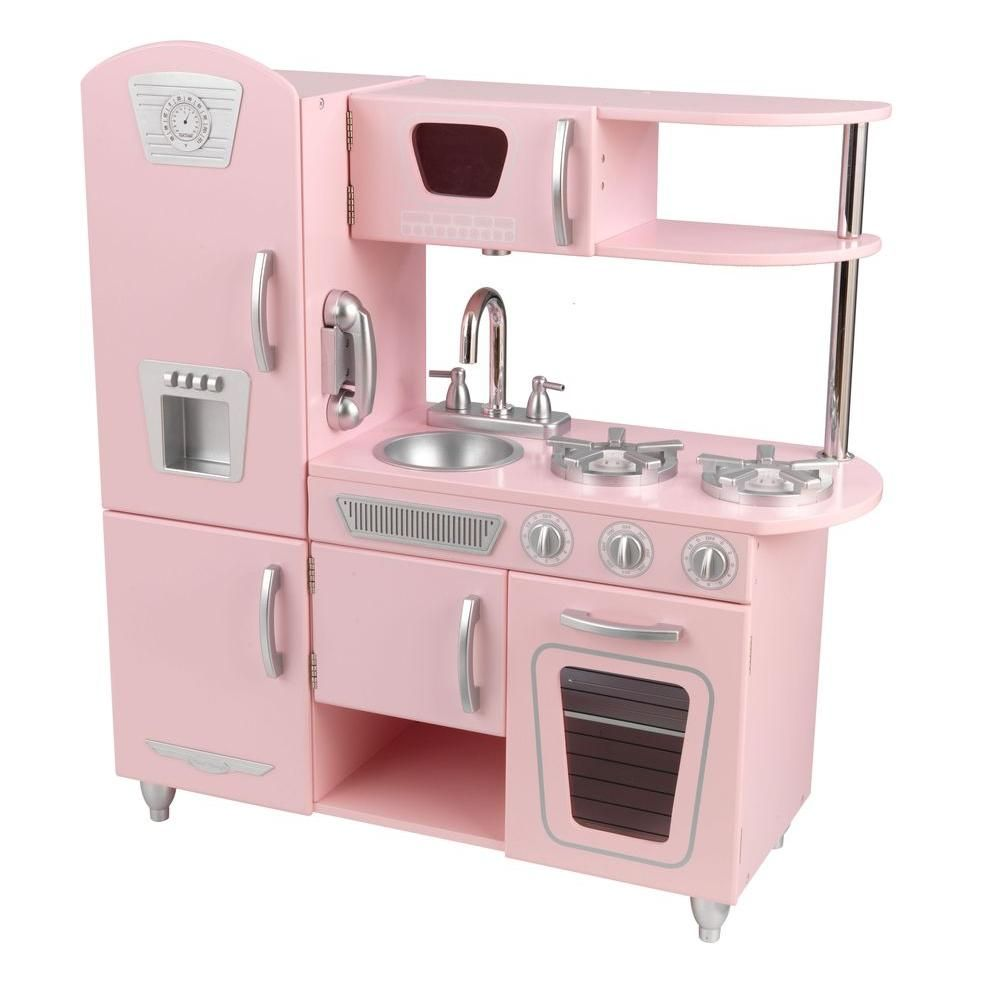 Kid Kraft Play Kitchen Blanco Faucet Replacement Parts Kidkraft Pink Vintage Playset In 2019 Products