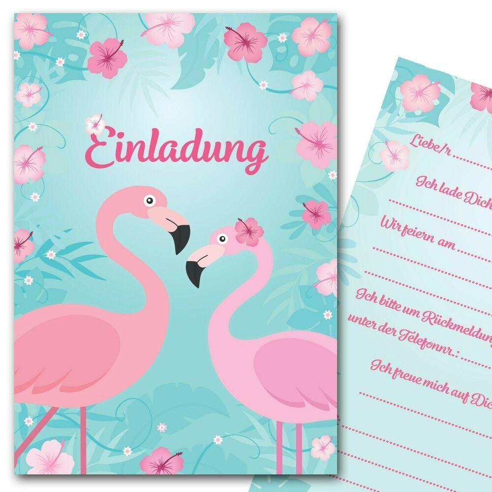 einladungskarten flamingo sommerparty einladungen
