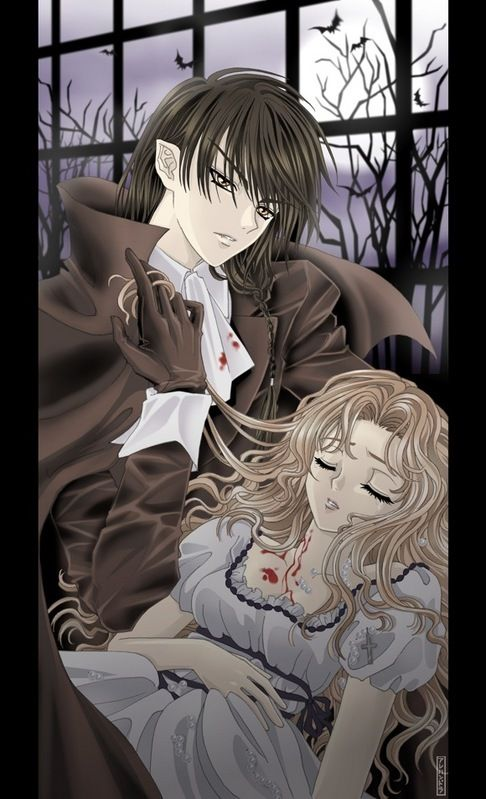 Werewolf Boy And Human Girl Vampire Sxhuman S Gothic Anime