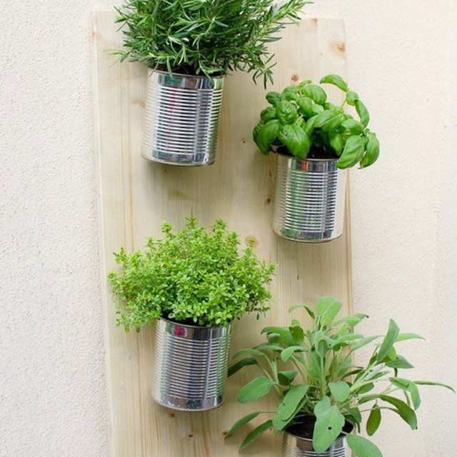 r cup 22 diy pour am nager votre ext rieur de conserve conserve et mur vegetal. Black Bedroom Furniture Sets. Home Design Ideas