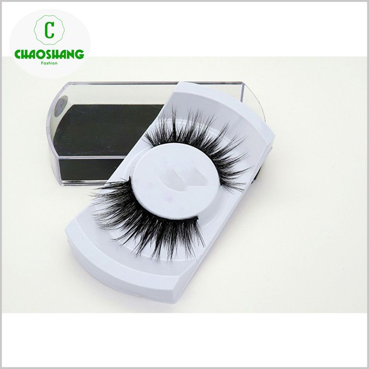 3d Faux Mink Double Layered Silk Lashes Synthetic Fake Eyelashes