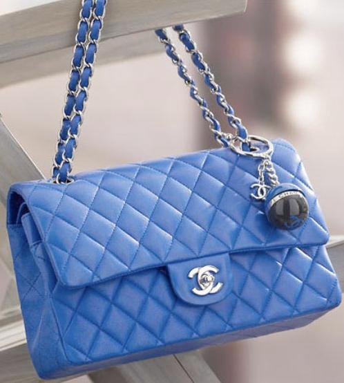 2 55 In Light Blue Color Chanel Totechanel Handbagsfashion