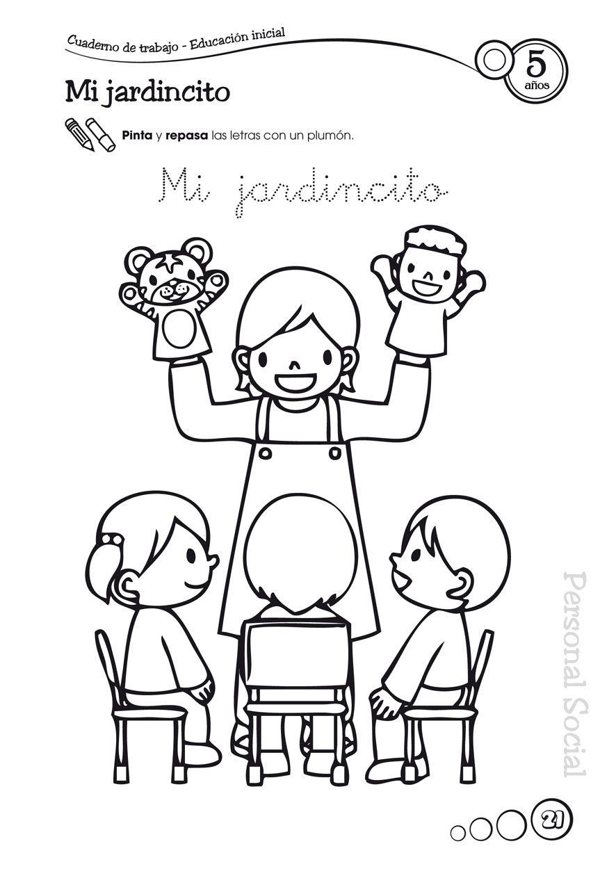 Feliz Semana De La Educacion Inicial Dibujos Para Ninos Dibujo