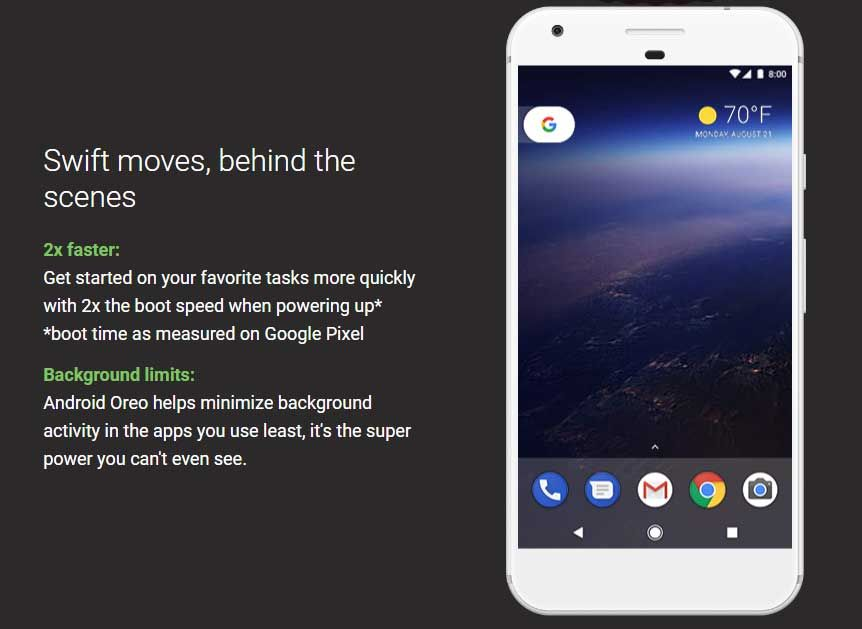 Image result for android oreo background limits