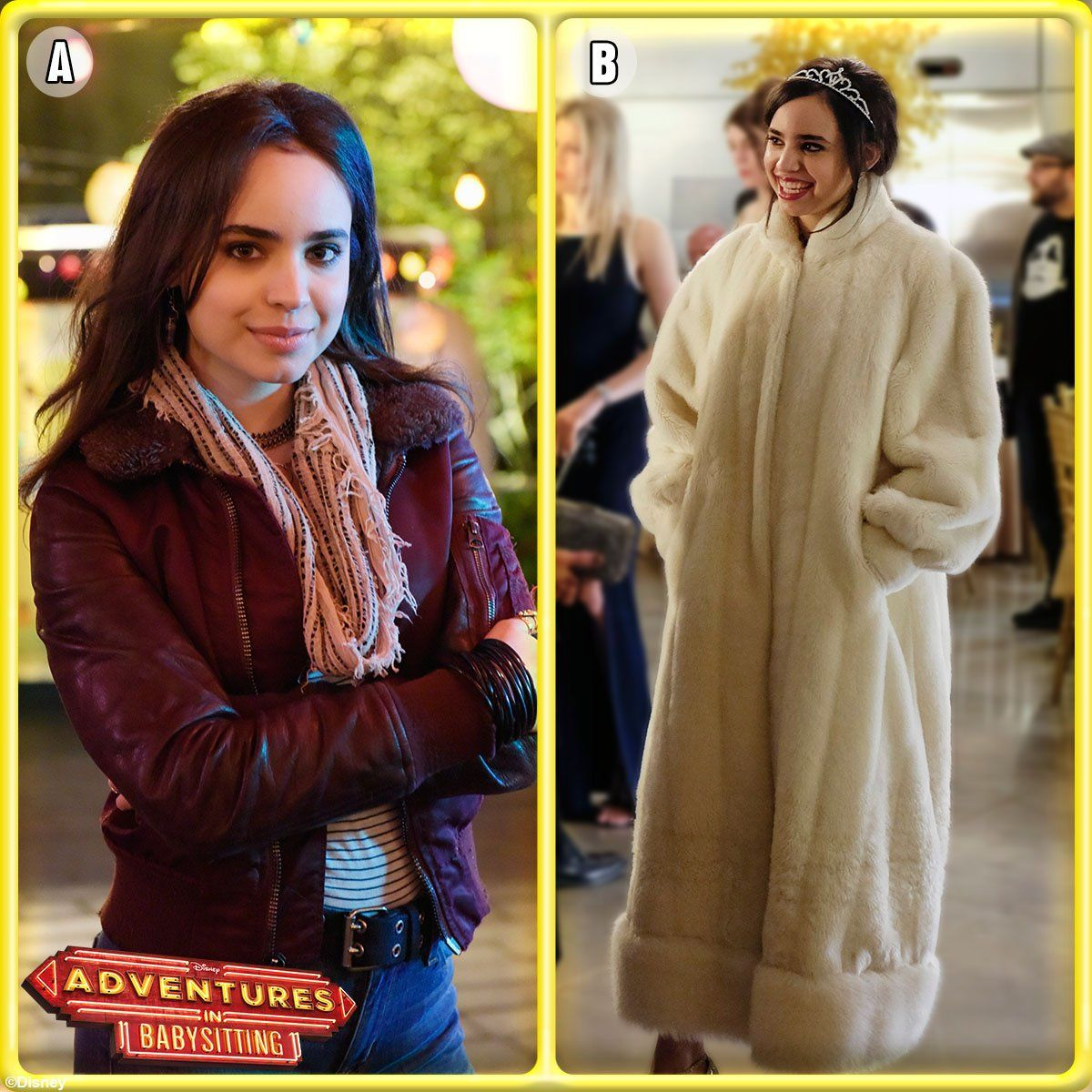 Sofia Carson As Lola Adventure In Babysitting