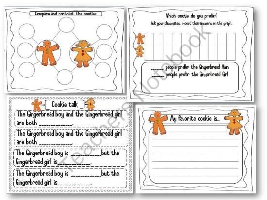 Responding to the Gingerbread Girl and the Gingerbread boy ...
