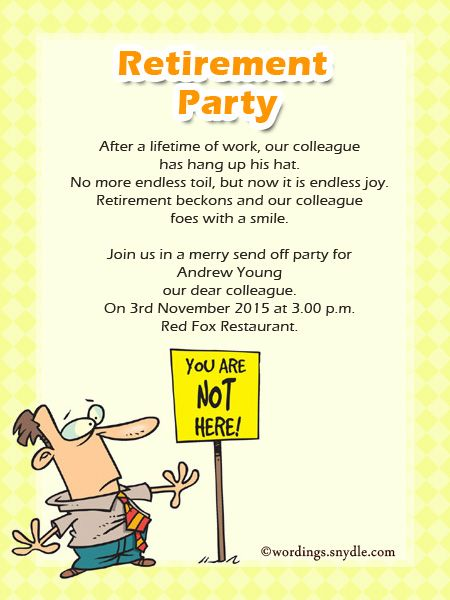 Farewell Party Invitations Invitation Card Sample Retirement Parties Templates