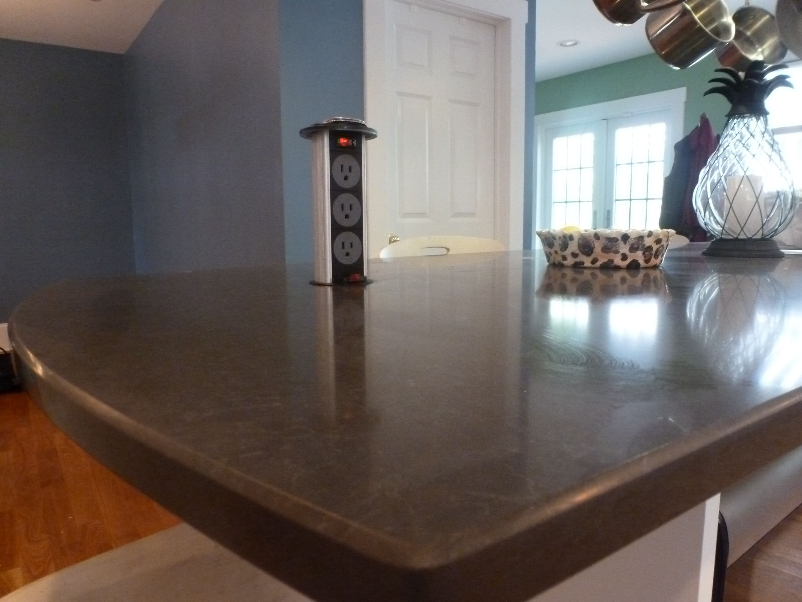 The Power Grommet Recesses Into The Countertop With Images