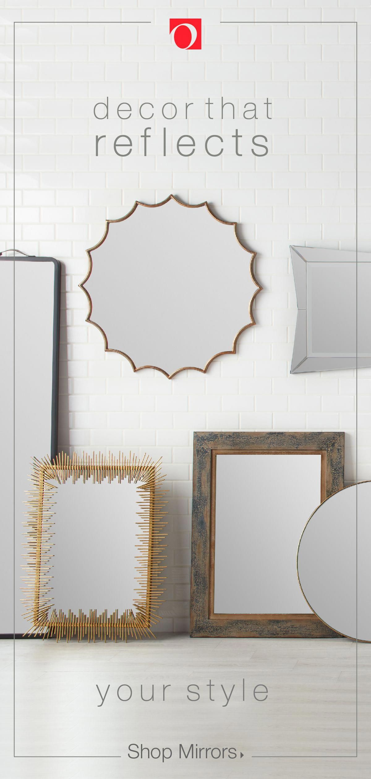 Decorative Mirrors Make Great Additions To Any Room In Your Home