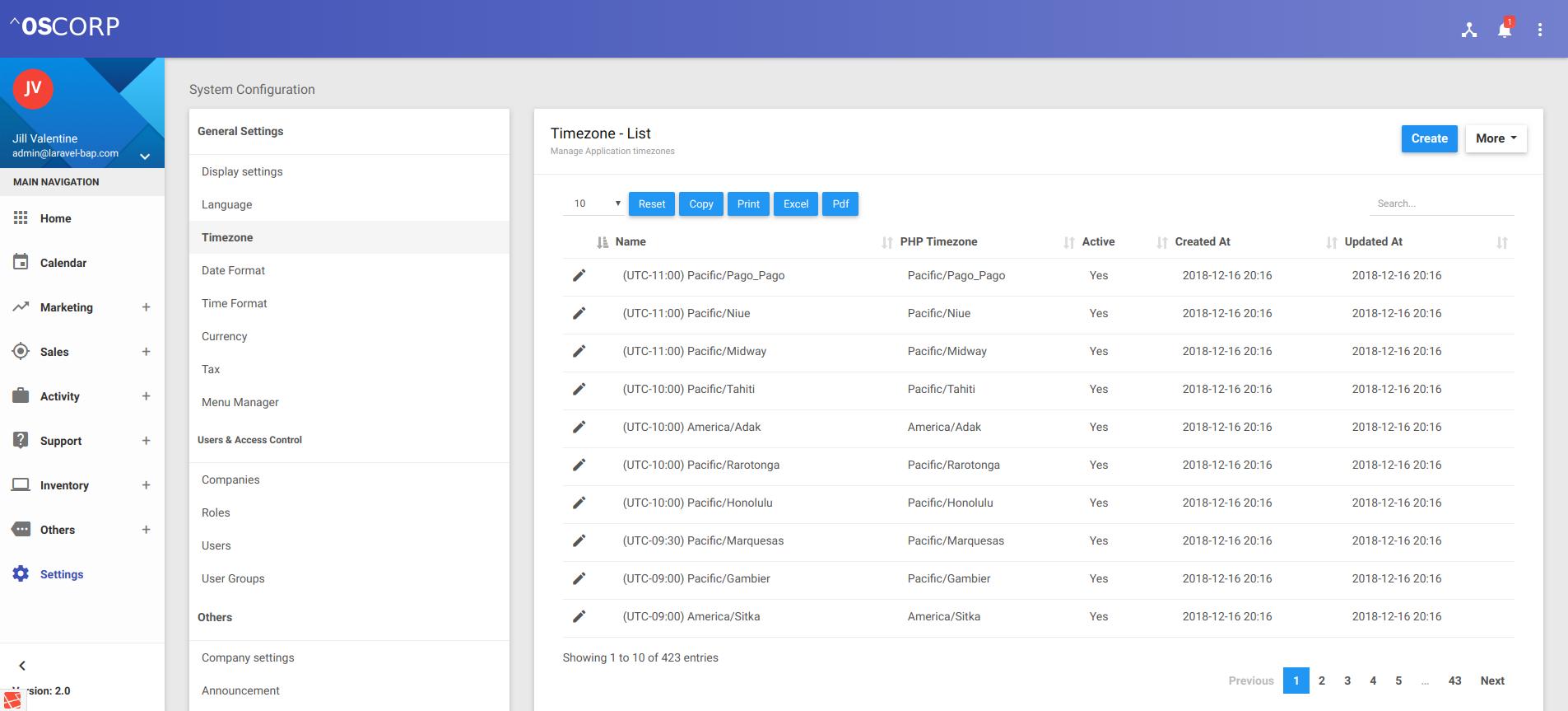 Multicrm - Multipurpose Powerful Laravel CRM + Landing Page (SAAS