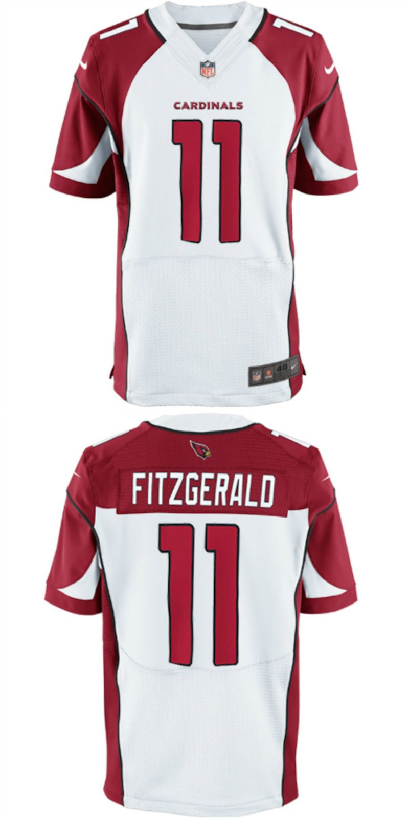 Nice Larry Fitzgerald Arizona Cardinals Nike Elite Jersey White. Up to  for cheap