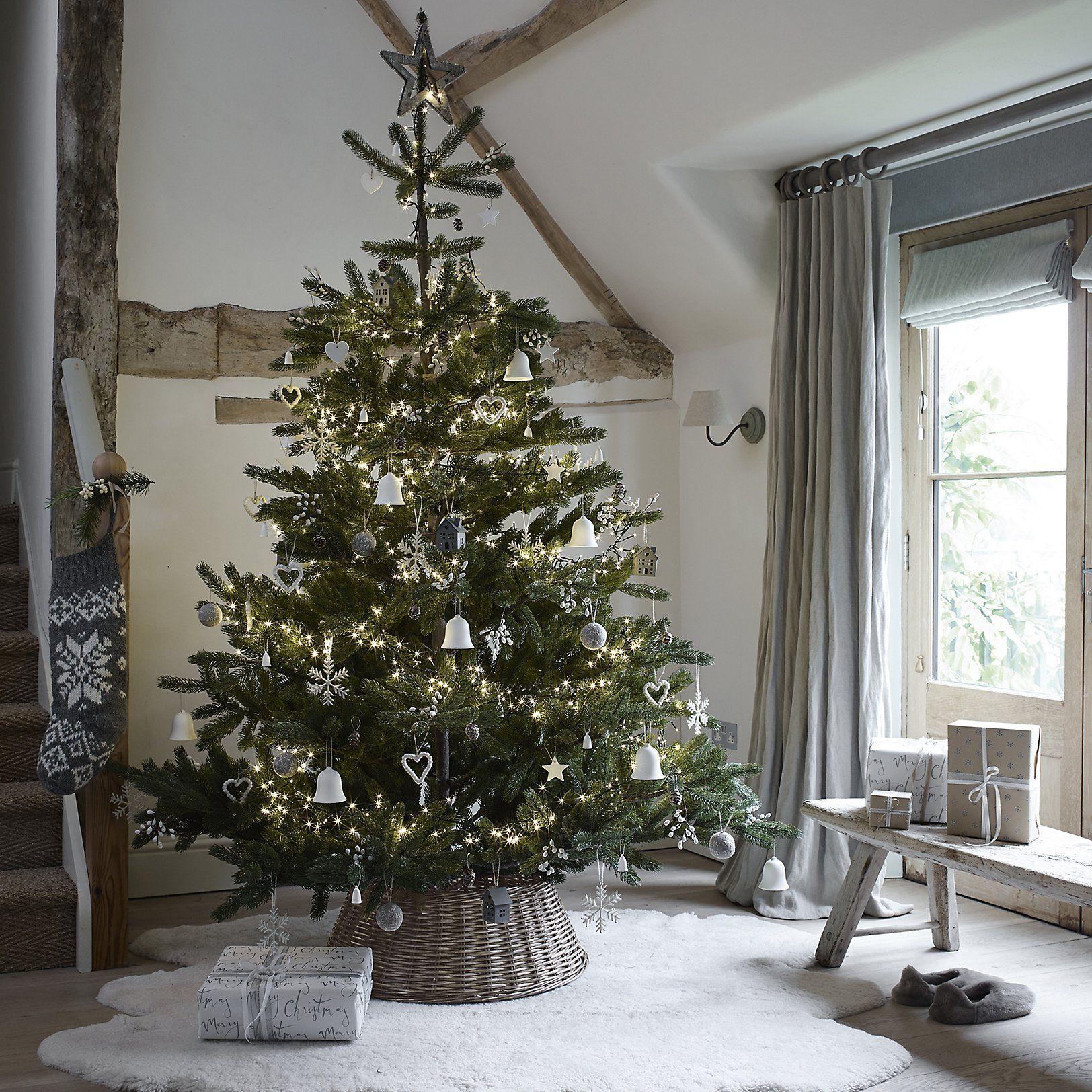 Felt Bobble Heart The White Company UK Christmas