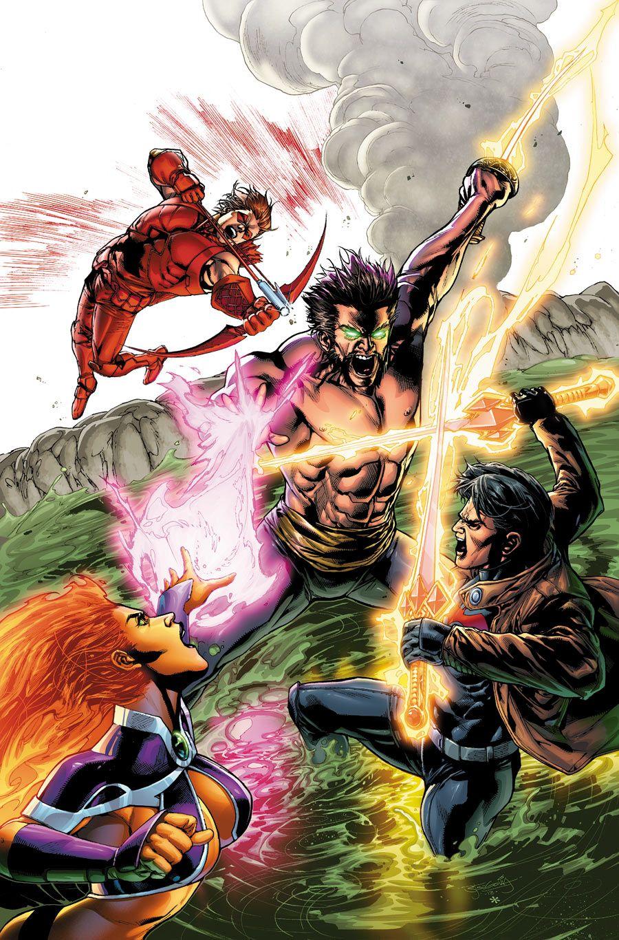 Red Hood & The Outlaws vs Ra's Ak Ghul- Stephan Segovia
