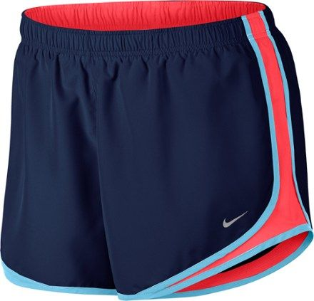 3cce99c63635fa Nike Women s Dry Tempo Shorts Plus Sizes Binary Blue Racer Pink 3X
