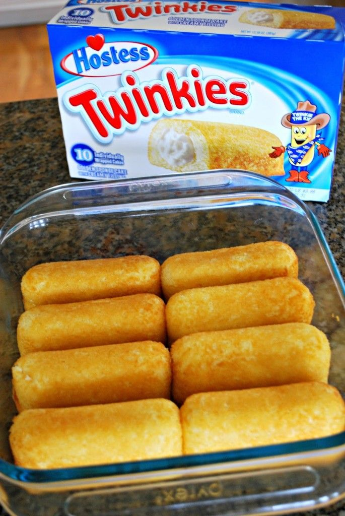 No Bake Twinkies Cake for Spring